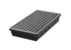 Spill Tray With Grid