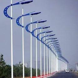 Street Tubular Light Pole