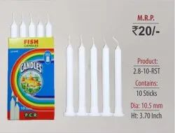 Ribbed Stand Candles 2.8-10-RST