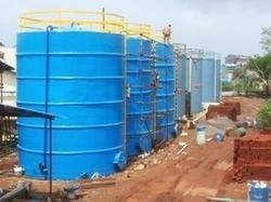 FRP Bulk Storage Tank