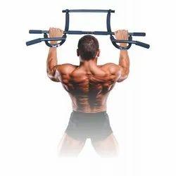 Metal USI Fitness Door Gym Bar