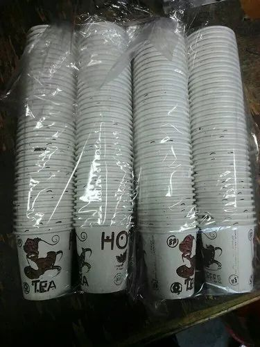 White 100 Ml Paper Cup