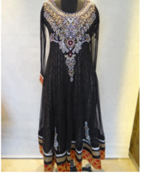 Satin Designer Salwar Suit