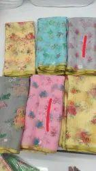 Soft Organza Print Fabric
