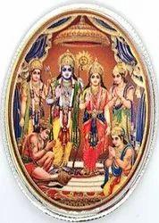 Ram Darbar Color Silver Coin 20 gm