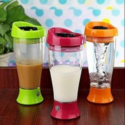 Chocolate Milk Mixer, Coffee Shake Maker, Self Stirring Mug (Multi Color)-Chocolate Milk Mixer