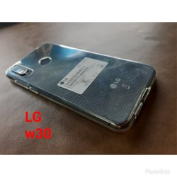 Silicon LG W30 Mobile Back Cover For Mobile Protection