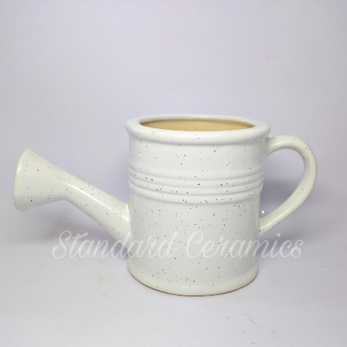 Watering Can Shape Ceramic Planter Pot, for Interior Decor
