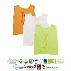 Organic Cotton Recycle Polyester Top