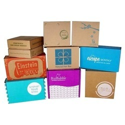 Multi Color Printed Boxes