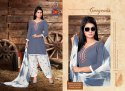 Lizi-Rimple-TC Rayon Ready Made Salwar Suits