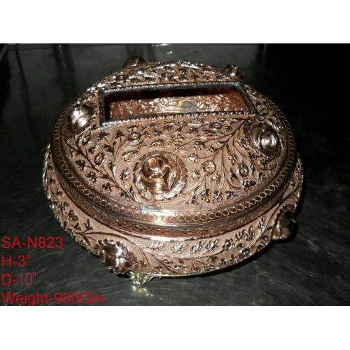 Antique Silver Plated Jewellery Box at Rs 51500 number Silver