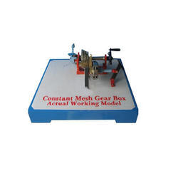 Constant Mesh Gear Box Working Engineering Models