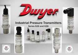 Dwyer 628-75-GH-P3-E4-S1 Pressure Transducer 0-10 Bar