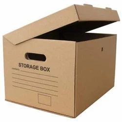 Brown Printed Corrugated Packaging Box