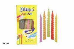 BC-04 Bittoo Junior Birthday Candles