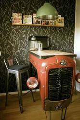 Red Automobile Furniture for Theme Restaurant