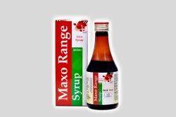 Maxo Range Iron Syrup
