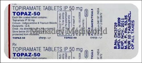 Topaz 25 mg rs 300 ml