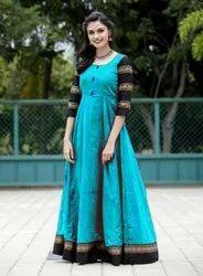 Bollywood Anarkali Cotton Kurti