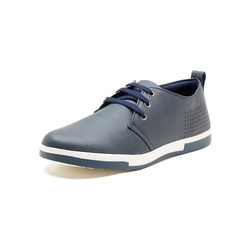 Iroo Blue Mens Canvas Shoes