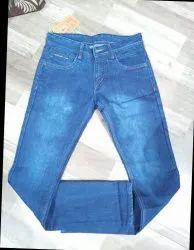 Comfort Fit Button Jeans for Men's