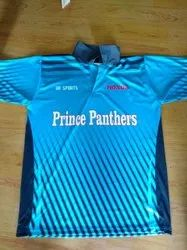 Printed Polyester Indian Cricket Team Jersey