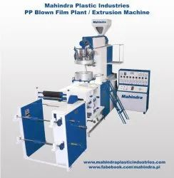 Pp Blowing Film Plant, For Industrial, 25 Kw