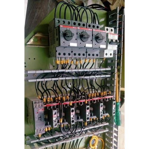 3 Phase Electrical Panel, Three-Phase Control System - Techno Hut ...