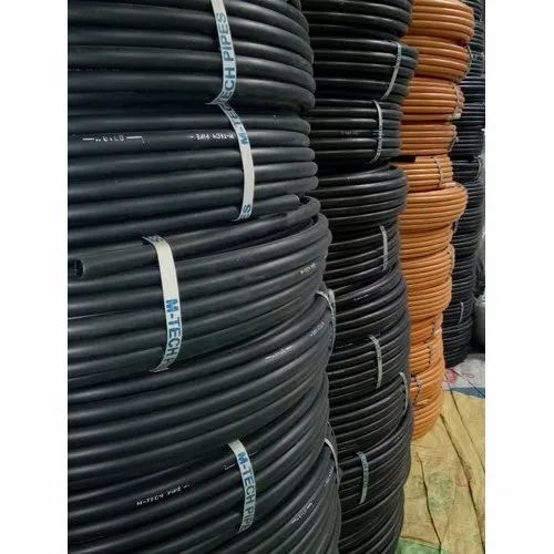 Hdpe Electrical Conduit Pipe Size Diameter 16 To 28 Mm Size 16 To 28mm Rs 7 Meter Id 21546914130