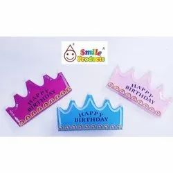 Happy Birthday Paper Crown For Part