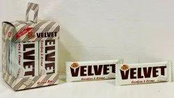 Velvet Cookies and Cream Bar