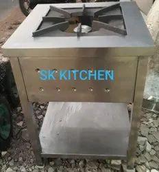 1 Stainless Steel SINGLE BURNER GAS STOVE
