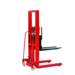 Telescopic Mast Pallet Stackers