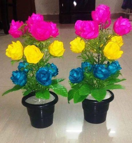 IndiaMART & Silk Cocoon Flower Vases