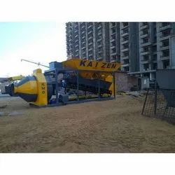 KMD-30 Drum Mixer Mobile Concrete Batching Plant