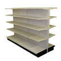 Upto 5ft Free Standing Unit Supermarket Display Rack, 5 Shelves