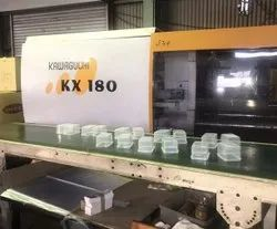 Used Injection Molding Machine, Kawaguchi KX-180 Ton Japan
