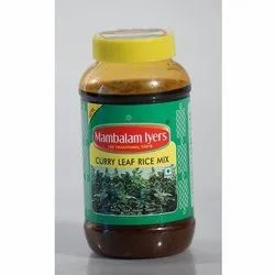 Mambalam Iyers Curry Leaf Rice Mix, Packaging Type: Pet Jar, Packaging Size: 200g