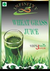 Wheat Grass Juice with Honey Flavor