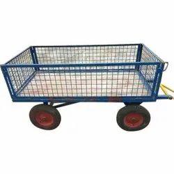 Industrial Material Handling Trolley  Powder Coating Service