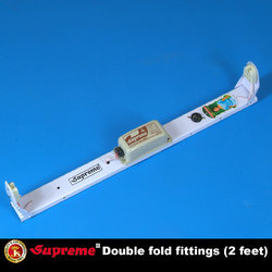 Aluminium Supreme Double Fold Tube Light Holder