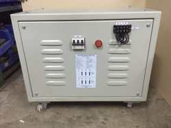 AC Transformer with Enclosure