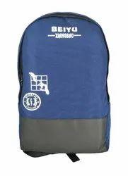 Printed Blue Laptop Bag