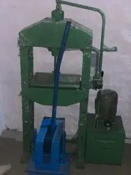 Hydraulic Slippers Making Machine