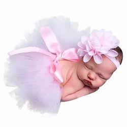 Babymoon ( Set Of 2 ) Baby Princess Tutu ( Skirt & Headband ) Designer Clothing / Beautiful Costume