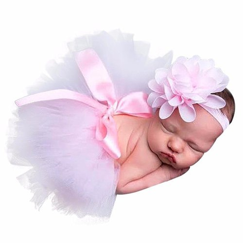Babymoon ( Set Of 2 ) Baby Princess Tutu ( Skirt & Headband