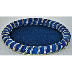 Round Velvet Wedding Trays 18 Inches