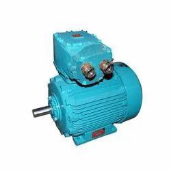 Three Flame Proof AC Motor, Power: 10-100 KW, 220-440 V