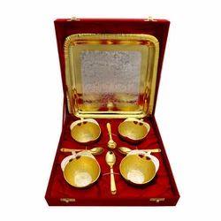 German Golden Bowl Set